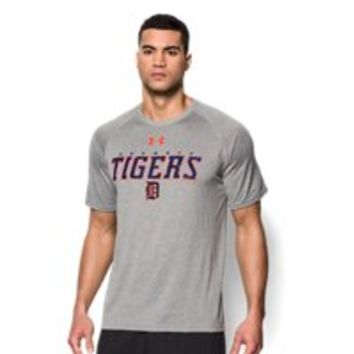 Under Armour Mens Detroit Tigers Team UA Tech T-Shirt