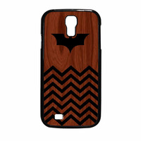 Batman And Black Chevron Samsung Galaxy S4 Case