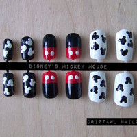 Disney Mickey Mouse Nail Art Set