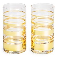 kate spade new york 'hampton street - highball glasses' (set of 2)