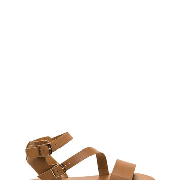 Play Favorites Faux Leather Sandals