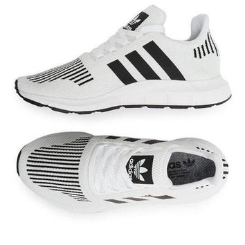 adidas Originals Swift Run Sneakers In White Fashion casual sports shoes