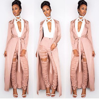 Runway Rose Gold Duster