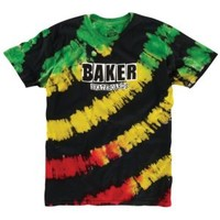 Baker Brand Logo Tie Dye T-Shirt - Men's at CCS