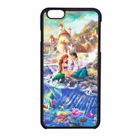Disney The Little Mermaid Art Paint iPhone 6 Case