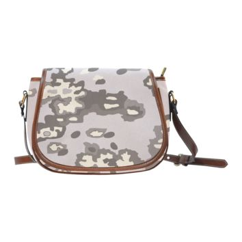 Women Shoulder Bag Dusty Camo Saddle Bag Large