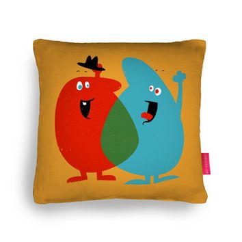 Hello Old Chum Cushion by Andy Fielding | Ohh Deer