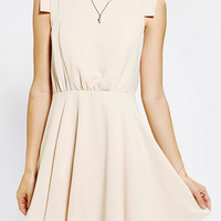 Urban Outfitters - Pins and Needles Silky Shoulder Detail Dress