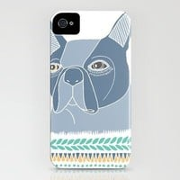 Boston Terrier iPhone Case by Alice Rebecca Potter | Society6