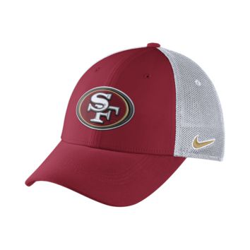 Nike Legacy Vapor Mesh Back (NFL 49ers) Fitted Hat