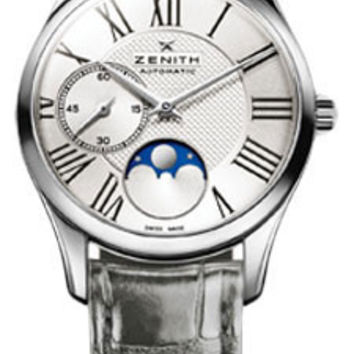 Zenith - Elite Lady Ultra Thin Moonphase Stainless Steel # 03.2310.692/02.C706