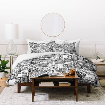 Sharon Turner Type Totty Duvet Cover