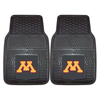 Minnesota Golden Gophers NCAA Heavy Duty 2-Piece Vinyl Car Mats (18x27)