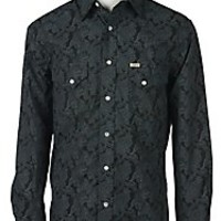 Rafter C Cowboy Collection Men's L/S Western Snap Shirt RC1540706