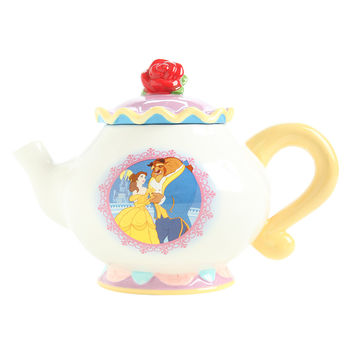Disney Beauty And The Beast 30 Oz. Ceramic Teapot