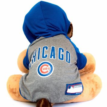 Chicago Cubs Hoodie Dog Shirt MLB Baseball Official License Pet Product