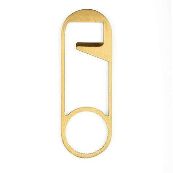 KIKKERLAND SAFETY PIN BOTTLE OPENER