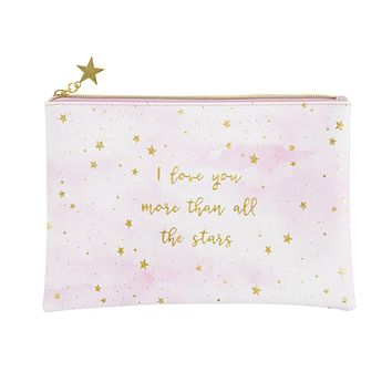 I Love You More Pouch Makeup Bag