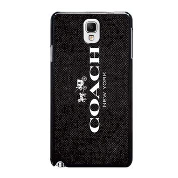 coach new york signature samsung galaxy note 3 case cover  number 2