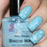 Snow Way! Nail Polish by KBShimmer