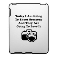 Shoot Someone Camera Case For The iPad from Zazzle.com