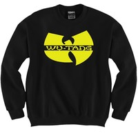 Wu-Tang Unisex Crewneck Funny and Music