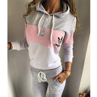 "Fashion ""Adidas"" Multicolor Hoodie Sweater Pants Trousers Set Two-Pieces"