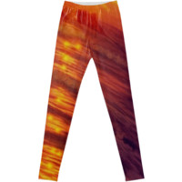 Sunshiny path leggings