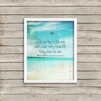 Let Us Lay In The Sun - Wall Art, Print 8 x 10 INSTANT Digital Download Printable