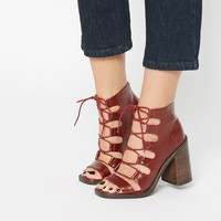 ASOS EDEN Lace Up Ankle Boots