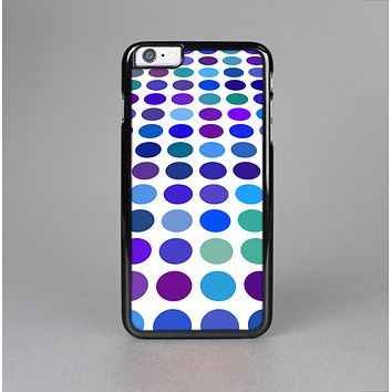 The Blue and Purple Strayed Polkadots Skin-Sert for the Apple iPhone 6 Plus Skin-Sert Case