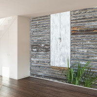 Paul Moore's Wooden Mural wall decal