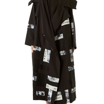 Embellished Patchwork Coat (THE-HERDSMAN-PATCH-SOOT)