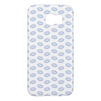 Alice Blue in an English Country Garden Samsung Galaxy S6 Cases