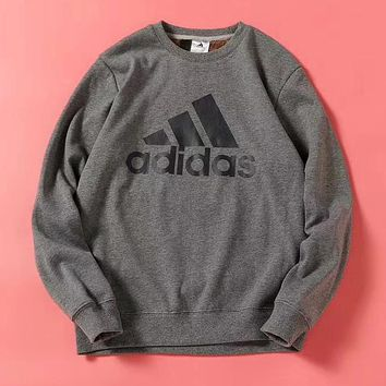 ADIDAS Woman Men Fashion Cashmere Top Sweater Pullover