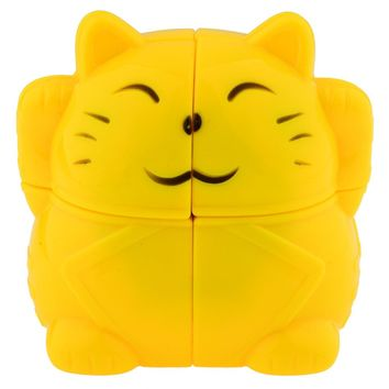 Cat Lucky Cat Magic Cube/Speed Puzzle Educational Toy