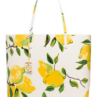 Kate Spade Lemon Street Len Painterly Lemons ONE