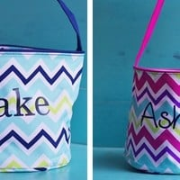 Personalized Easter/Toy Bin Buckets
