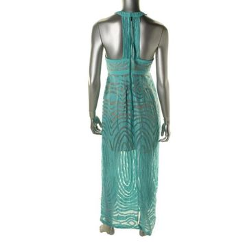 Green Tracy Reese Maxi Maxi Dress 60% off retail