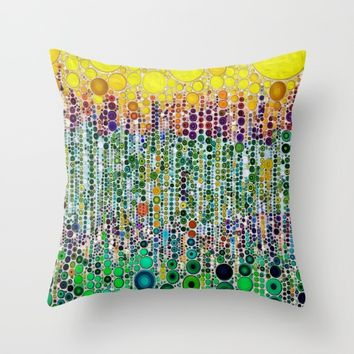 :: Margarita :: Throw Pillow by :: GaleStorm Artworks ::