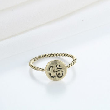 Yoga Meditation Ring