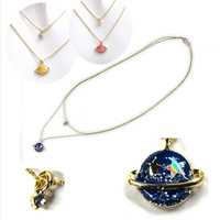 3 Colors My Little Universe Double Necklace SP152374