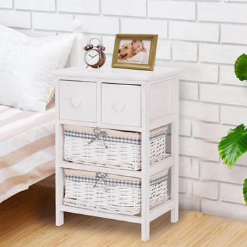 Modern Nightstand Bedside End Table