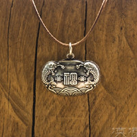 S925 Silver Necklace 福滿