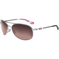 Oakley Given Breast Cancer Awareness Sunglasses - Women's Chrome/G40 Black Gradient, One