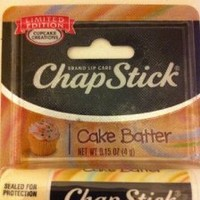 Chapstick Limited Edition Cupcake Creations Cake Batter