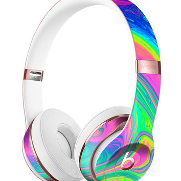 Neon Color Fushion V3 Full-Body Skin Kit for the Beats by Dre Solo 3 Wireless Headphones