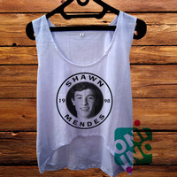 Shawn Mendes Magcon Boys crop tank Women's Cropped Tank Top