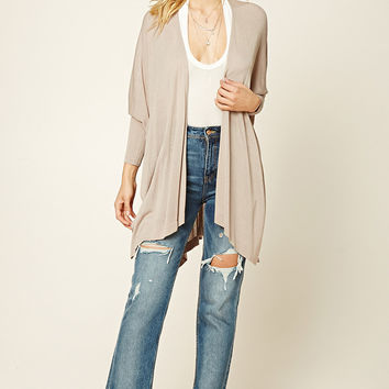 Contemporary Side-Slit Cardigan