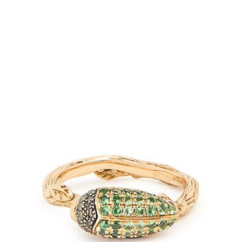 Scarab yellow-gold ring | Bibi Van Der Velden | MATCHESFASHION.COM UK